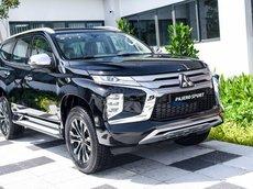New Pajero Sport, giá xe tháng 9, giảm hơn 120 triệu đồng, hỗ trợ 50% thuế trước bạ, lãi suất 0%