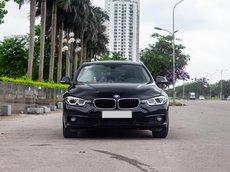 Sở hữu xe sang giá tốt BMW 320i màu đen nội thất đen 2016 chỉ 999 triệu