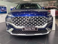 Giá Hyundai Santa Fe 2021 tốt nhất + ưu đãi hấp dẫn + gói phụ kiện chính hãng + xe sẵn đủ màu giao ngay + hỗ trợ ngân hàng