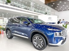 Bán Hyundai Santa Fe Facelift 2021 - bom tấn mới ra mắt - trả góp 85% - xe sẵn giao ngay