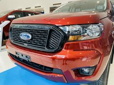 Bán Ford Ranger XLS mới 2021, sẵn đủ màu, hỗ trợ vay 85%. Chỉ 165 triệu lăn bánh toàn quốc