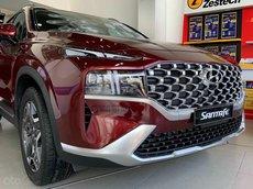 Hyundai Santa Fe 2021 máy xăng cao cấp - Hỗ trợ trả góp 85% - giao ngay đủ màu, năm 2021