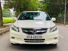 Bán xe Honda Accord 3.5 xuất Mỹ sx 2012, màu trắng, xe nhập