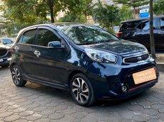 Cần bán lại xe Kia Morning 2017, màu xanh lam số sàn