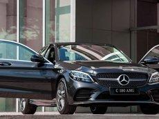 Mercedes-Benz C180 AMG new 2021 - tặng gói bảo hiểm cao cấp trọn vẹn cho 1 năm - xe giao ngay - đủ màu