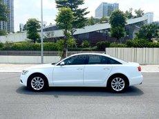 Xe Audi A6 sản xuất 2015, màu trắng như mới