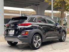 Bán Hyundai Kona Turbo sản xuất 2018, màu đen