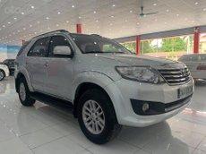 Bán Toyota Fortuner năm sản xuất 2012, màu bạc, giá tốt 495tr