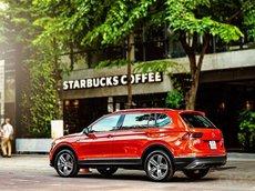 Cần bán xe Volkswagen Tiguan Elegence sản xuất 2021, màu đỏ, xe nhập