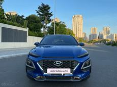 Cần bán gấp Hyundai Kona 1.6 Turbo, sản xuất 2019, màu xanh năm 2019