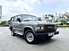 Toyota Land Cruiser nhập 1990 máy dầu 7 chỗ hai cau nhiều đồ chơi, số sàn