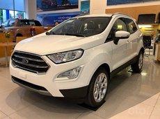 Ford Ecosport 2021 trả trước 130tr, giảm rất sâu, tặng rất nhiều phụ kiện