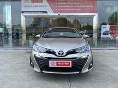 Cần bán xe Toyota Vios 1.5G CVT 2020 - Màu nâu vàng - giao dịch tại HCM, đi 20.000km