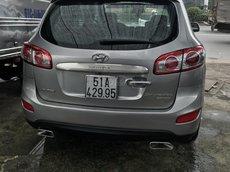 Bán xe Hyundai Santafe 2010, màu bạc
