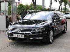[Công ty thanh lý ] xe Phaeton 3.0 FSI màu đen, nội thất nâu sang trọng xe hiếm có tại Việt Nam