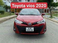 Bán Toyota Vios 2020 số sàn, xe gia đình bán lại sản xuất 2020 giá cạnh tranh