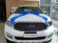 Ford Everest 2021 - giá tốt nhất miền Bắc, giảm tiền mặt, tặng BHVC, trả góp 80%, đủ màu các phiên bản giao ngay