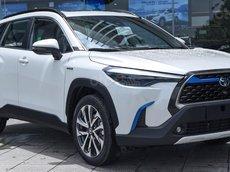 [ Toyota TP. HCM ] - Toyota Corolla Cross 2021 - đủ màu sắc có sẵn xe giao ngay cho quý khách hàng