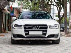 Siêu phẩm Audi A8 L sx 2014 máy 4.0, màu trắng
