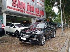 Sàn Ô Tô Hà Nội bán Hyundai Santafe bản 2.4AT máy xăng đặc biệt, màu đen, sản xuất năm 2017 hai cầu