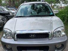 Cần bán lại xe Hyundai Santa Fe 2005, màu bạc, nhập khẩu chính chủ giá cạnh tranh