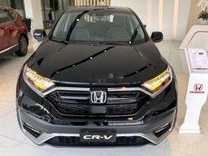 Bán xe Honda CR V đời 2021, màu đen