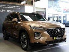 Bán Hyundai Santa Fe 2.4AT 2019 cao cấp, trả góp