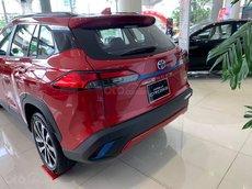 Cần bán gấp Toyota Corolla Cross 1.8 G năm 2021, màu đỏ, nhập khẩu nguyên chiếc