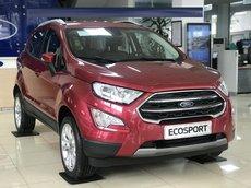 Hà Nam bán Ford EcoSport Titanium 1.5AT 2021, đủ màu, tặng gói bảo hiểm, phụ kiện, vay tối đa 80%