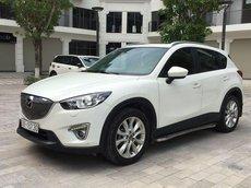 Bán Mazda CX 5 năm sản xuất 2013, màu trắng, giá 583tr