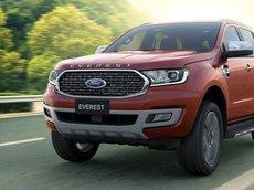 Ford Everest ưu đãi khủng gần 100tr, hỗ trợ 80% giá trị xe, tặng phụ kiện hấp dẫn, đủ màu các phiên bản giao ngay