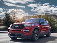 Cần bán xe Ford Explorer đời 2021, màu đỏ, nhập khẩu nguyên chiếc