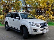 Bán Isuzu mu-X sản xuất năm 2016, màu trắng, xe nhập còn mới