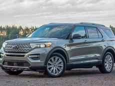 Xe Ford Explorer đời 2021, màu xám, giao xe đúng hẹn, giá ưu đãi tốt nhất thị trường