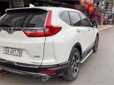 Cần bán gấp Honda CR V bản G 2019, màu trắng