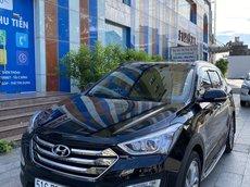 Bán Hyundai Santa Fe đời 2015, màu đen xe gia đình