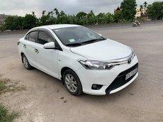 Cần bán Toyota Vios 1.3MT đời 2014, màu trắng