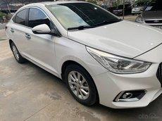 Xe Hyundai Accent đời 2018, màu trắng số tự động, 465 triệu