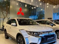 Mitsubishi Outlander 2021 - Giảm giá tiền mặt, trả góp lãi suất 0%, đủ màu giao ngay