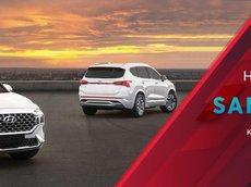 [Hyundai An Khánh 3S] Hyundai SantaFe 2021 NEW cực phẩm, bao giá toàn quốc, sẵn xe giao ngay