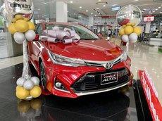 Bán xe Toyota Corolla Altis 1.8E CVT đời 2021, màu đỏ, 733 triệu