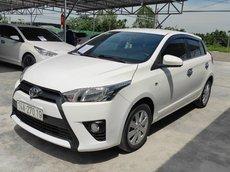Cần bán Toyota Yaris 2017, màu trắng, nhập khẩu, giá chỉ 520 triệu