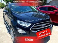 Giá 590tr có ngay Ford EcoSport đời 2019, màu đen