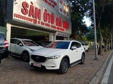 Bán Mazda CX5 2.5 SX 2018 màu trắng, xe TNCC một chủ từ đầu