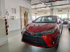 Bán Toyota Yaris đời 2021, màu đỏ, nhập khẩu