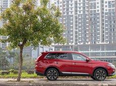 Bán xe Mitsubishi Outlander 2020 đời 2020, màu đỏ, giá chỉ 950 triệu
