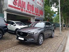 Sàn ô tô Hà Nội bán Mazda CX5 bản 2.5 màu xám, sản xuất năm 2018, lăn bánh 2019