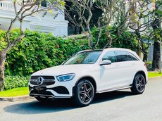Cần bán lại xe Mercedes GLC 300 4Matic sản xuất năm 2020, màu trắng