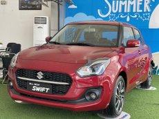 Bán xe Suzuki Swift sản xuất 2021, màu đỏ, nhập khẩu, giá chỉ 549.9 triệu