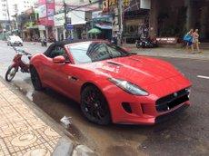 Bán lại xe Jaguar F Type sản xuất năm 2018, màu đỏ, nhập khẩu